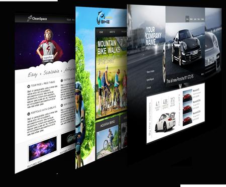 template website